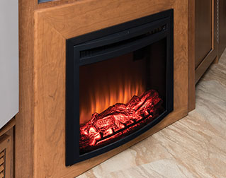 ELECTRIC FIREPLACE (SELECT MODELS)