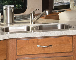 STAINLESS-STEEL SINK
