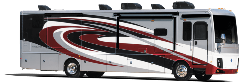 RV Living – Holiday Rambler Navigator RV – Class A Diesel Motorhomes