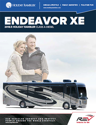 2018 New Endeavor xe brochure thumb