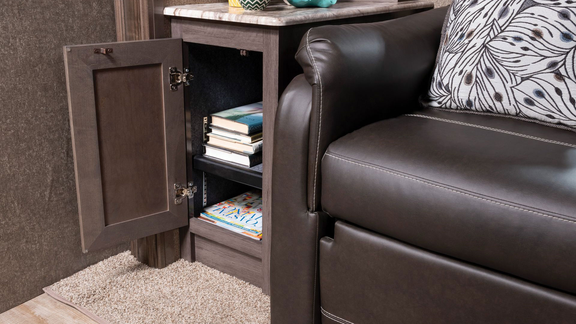 L Sofa Storage