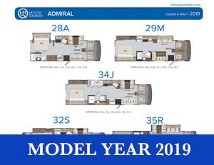 2019 Holiday Rambler Admiral brochure thumb
