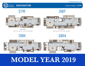 2019 Holiday Rambler Navigator brochure thumb
