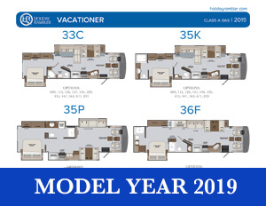 2019 Holiday Rambler Vacationer brochure thumb