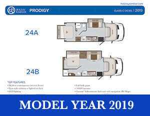 2019 Holiday Rambler Prodigy brochure thumb