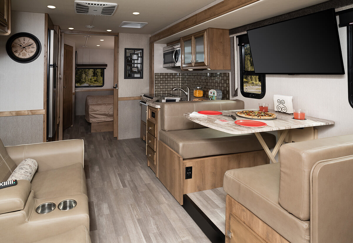 Admiral 28A - Chateau Décor with Nutmeg Cabinetry